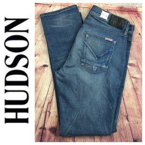 🐞Men's Hudson Blake Slim Straight Jean size 33